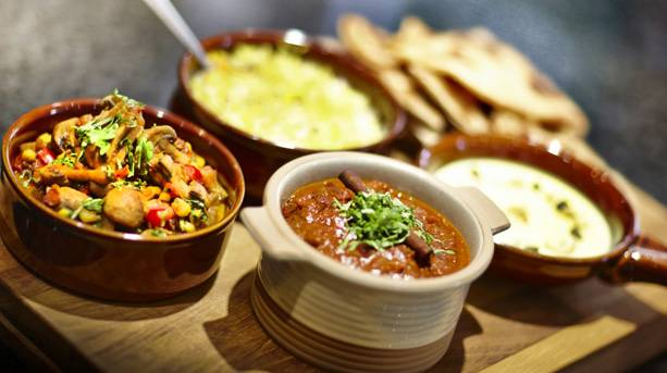 Curry supper club at Lucknam Park