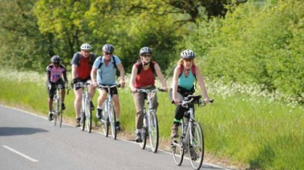Cycling in the Essex countryside