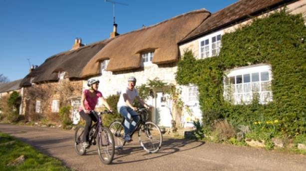 Cycle through the villages