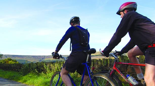 Mountain biking around the Colne Valley