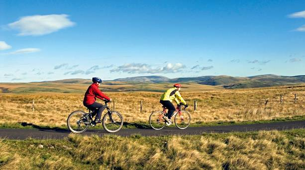Cycling in the Otterburn Ranges