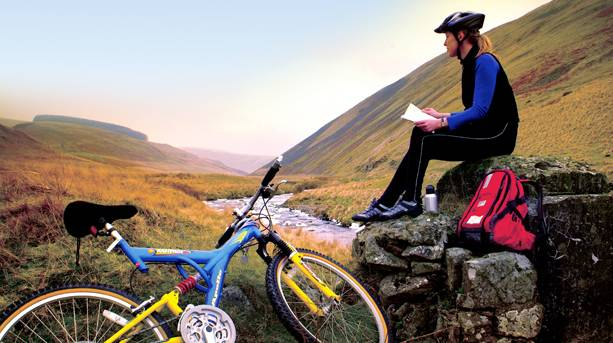 Cycling in the Coquetdale Valley