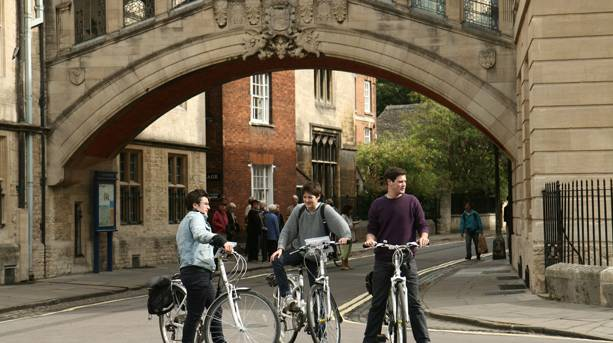 Cycle tour of Oxford