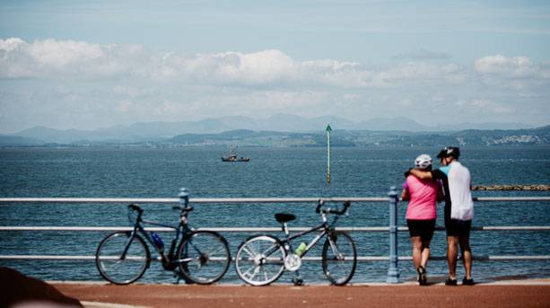 Morecambe Bay cycle route