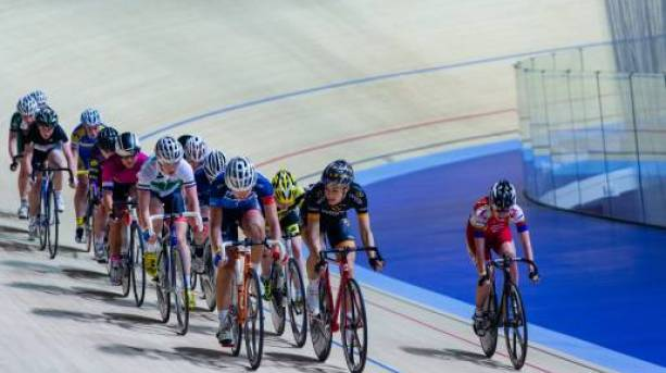Derby Arena, new 250-metre indoor cycling track
