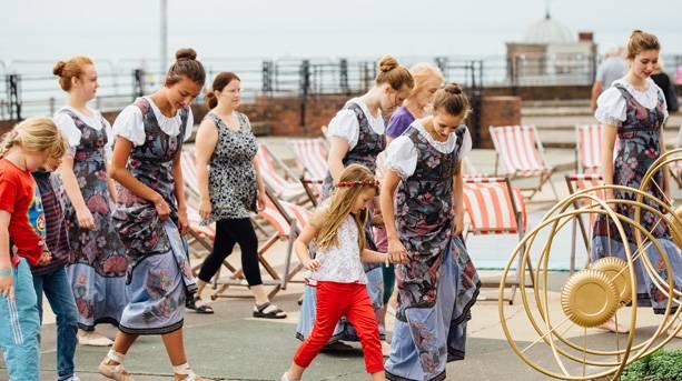 Dancing at Ramsgate Festival