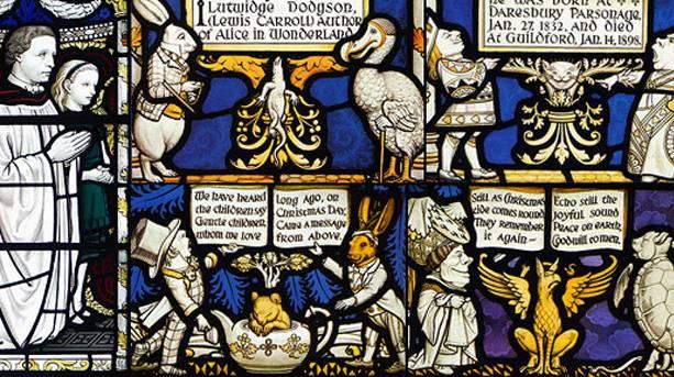 Memorial window at All Saints Church, Daresbury