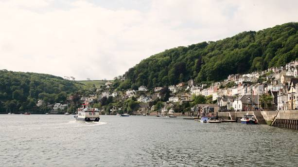 Dartmouth from the Water