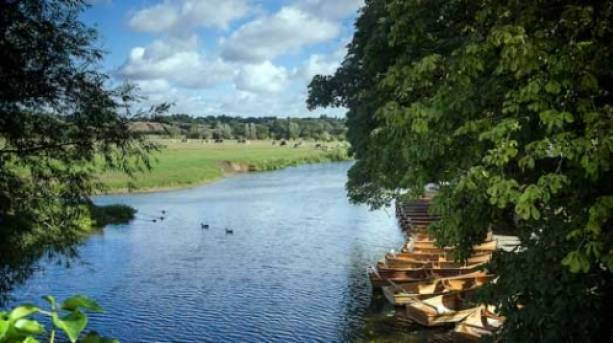 Hire a boat to explore the River Stour