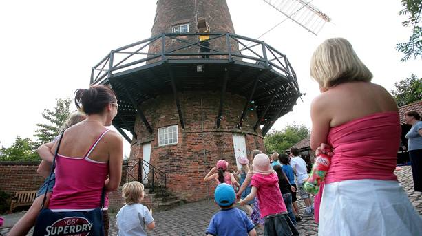 Demonstration at Green's Windmill