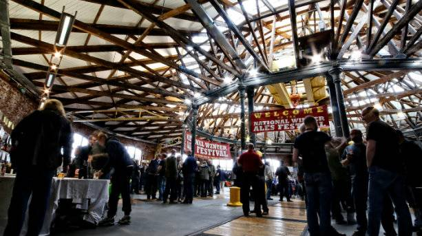 Derby CAMRA Winter Ales Festival at Derby Roundhouse