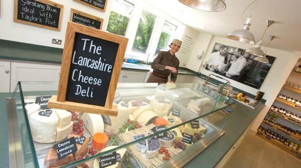 Dewlay Cheeseshop in Garstang, Lancashire