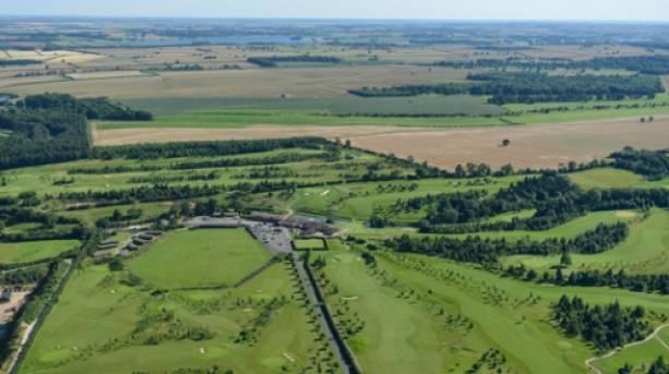 Aerial Shot of Greetham Valley Golf Club