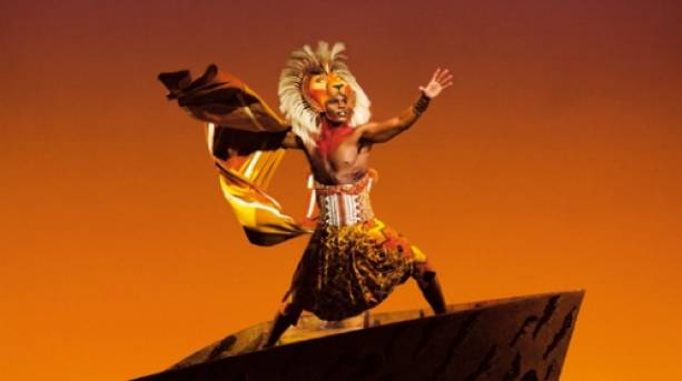 See the world famous Lion King