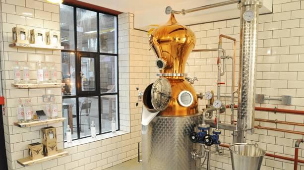 Christina the gin at The London Distillery Company