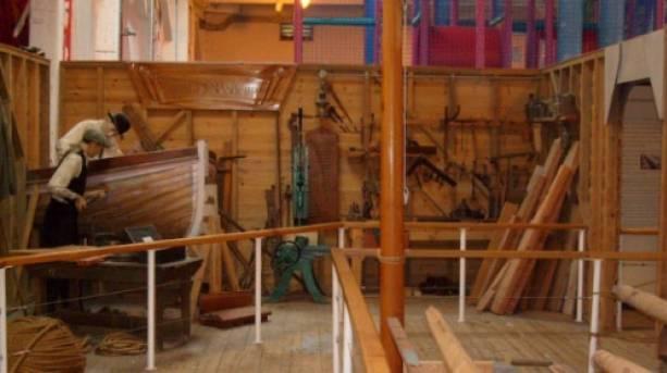 Exhibit at the Dockyard Apprentice