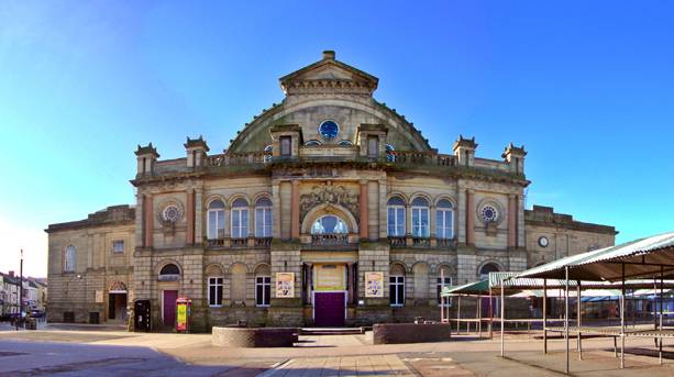 The Corn Exchange which sits at the heart of Doncaster Market