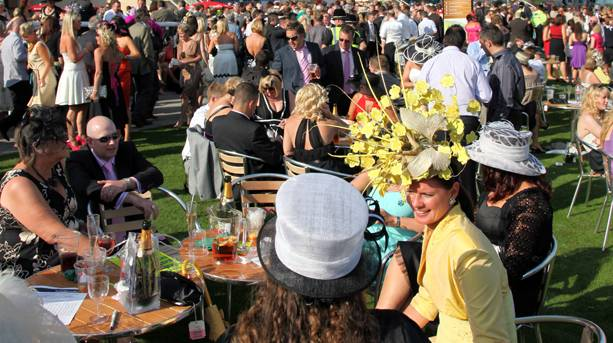 St Leger Day at Doncaster Racecourse