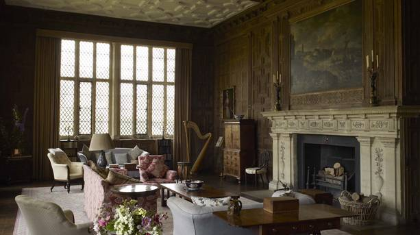 The Oak Room at Broughton Castle
