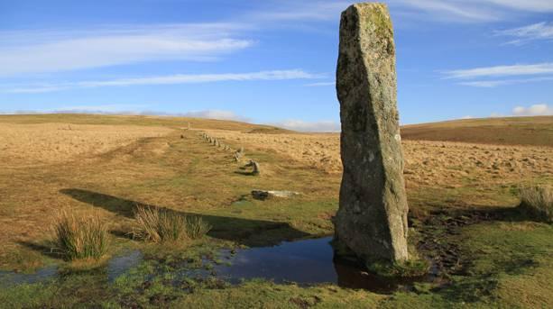 Drizzlecombe Stonerow on Dartmoor