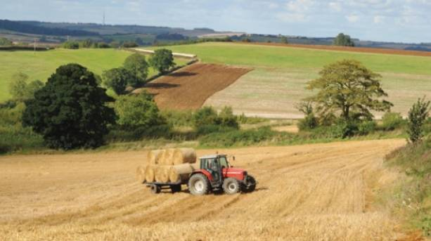 Breathtaking views of the Lincolnshire Wolds, an Area of Outstanding Natural Beauty