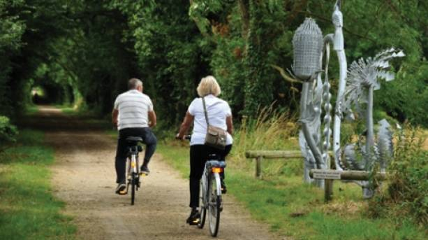 Cycling the Spa Trail in Woodhall Spa