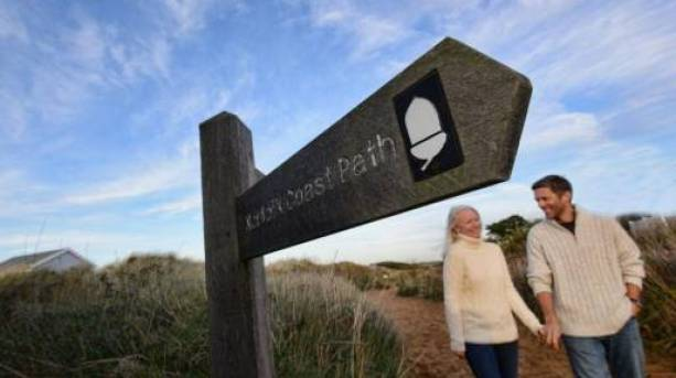Take in the breathtaking fresh air along The Norfolk Coast Path.