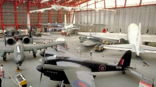 Imperial War Museum Duxford © VisitBritain