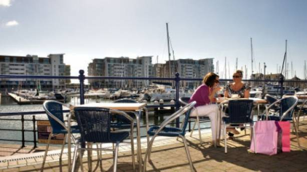 Eating out at Sovereign Harbour Marina in Eastbourne