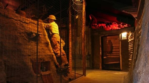 Inside the Eden Camp Museum