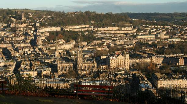View of Bath from Alexander Park