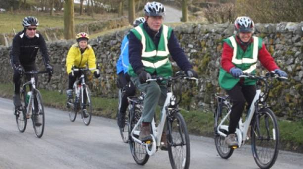 Electric Bike hire in the Forest of Bowland AONB