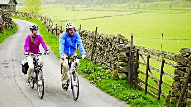 Electric Bikes in the Kentmere Valley