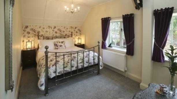 Bedroom at Eighteen97