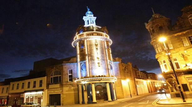 Sunderland Empire at night