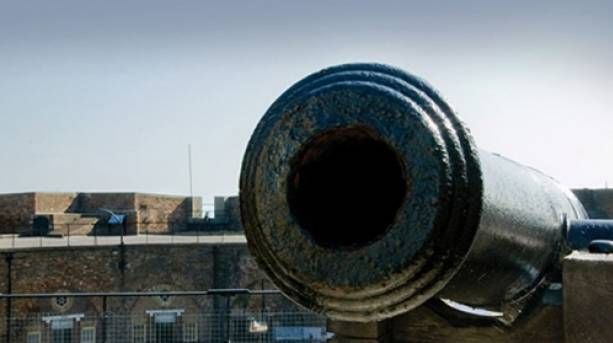 Redoubt Fortress cannon