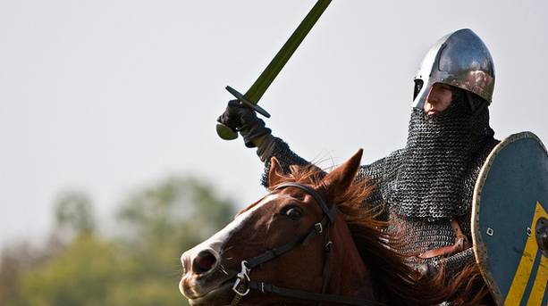 A Knight at Castle Hedingham