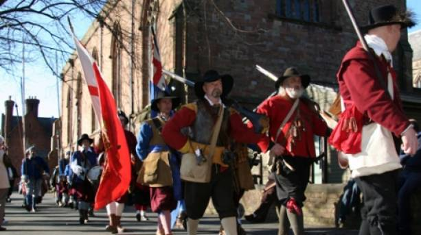 English Civil War City Re-enactors