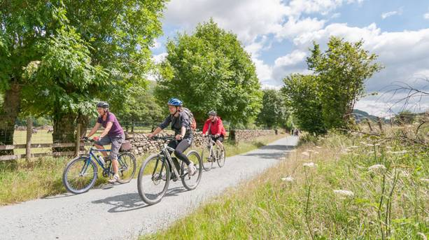 Enjoy the Langdale cycle Trail