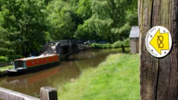 Caldon canal footpaths