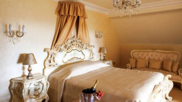 One of the many luxury rooms available to you at Hoar Cross Hall Spa Resort