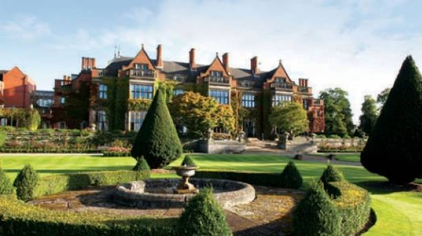 Hoar Cross Hall Spa Resort is a Grade II listed stately home retreat that pairs period style with modern luxury