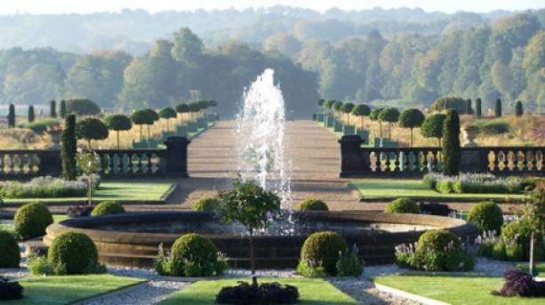The Italian Garden at The Trentham Estate