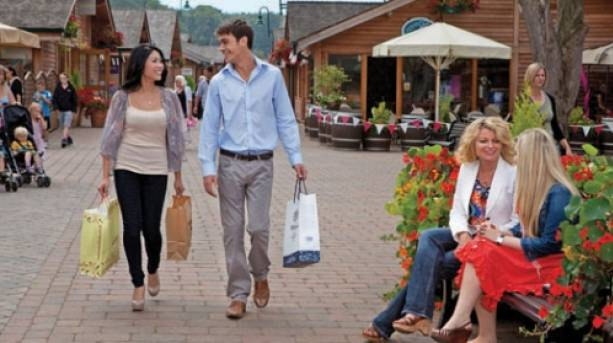 Enjoying a unique shopping experience at Trentham Village