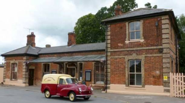 Ongar station dates from 1865 and is now Grade II listed