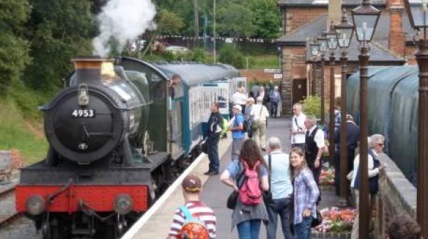 A former mainline heritage diesel on Essex's longest heritage railway