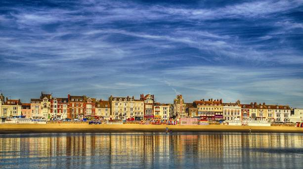 Weymouth from the sea