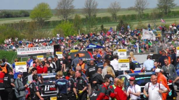 One of the many events in Thruxton's packed calendar