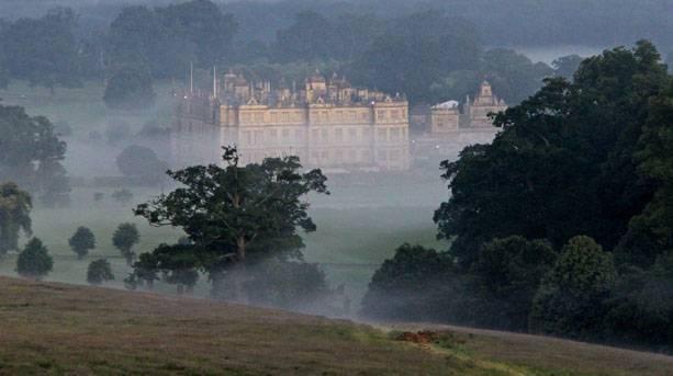 Longleat in the mist