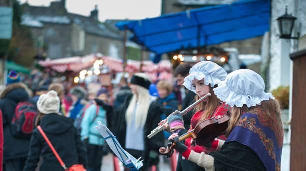 Dickensian Festival-music